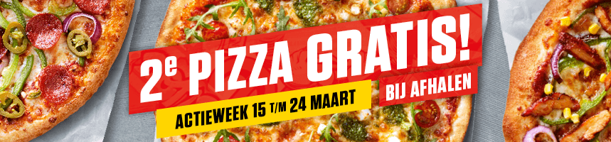 Actieweek maart 2019 New York Pizza