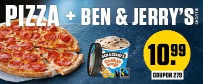 Ben & Jerry donderdagactie 10,99