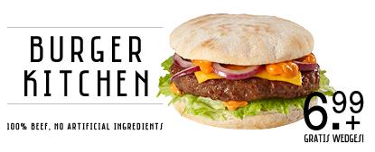 Burger Kitchen tijdens AW16Q1