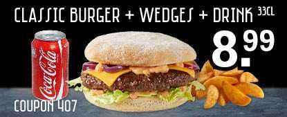 Burger deal!