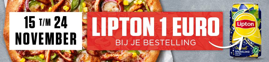 Lipton voor €1,-