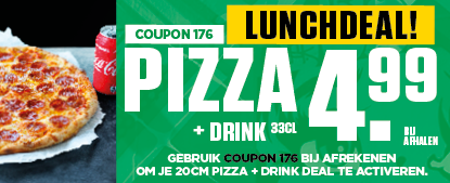 Lunchdeal 4,99 coupon 176