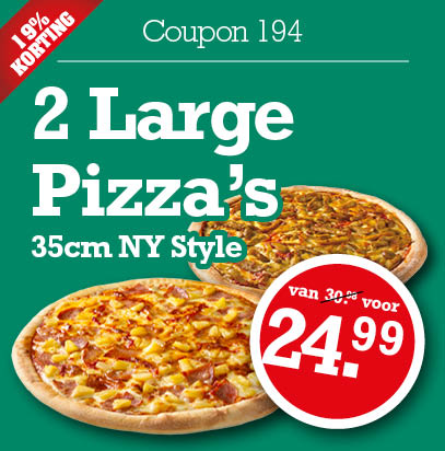 New york pizza korting coupons