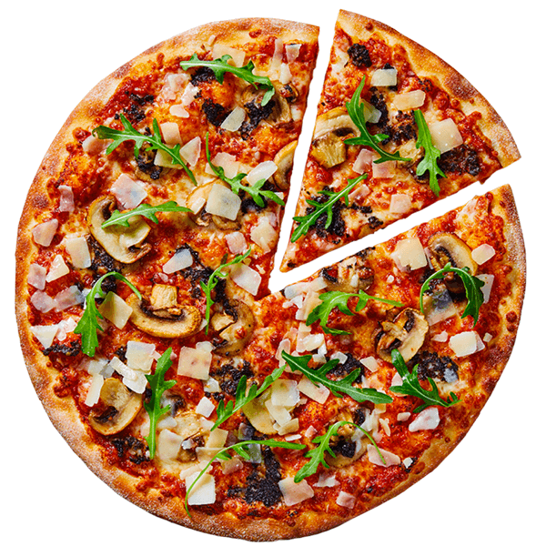 Zwarte truffel pizza van New York Pizza bestellen