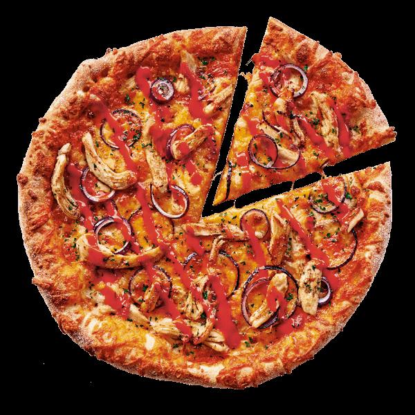 Buffalo Chicken pizza bestellen bij New York Pizza