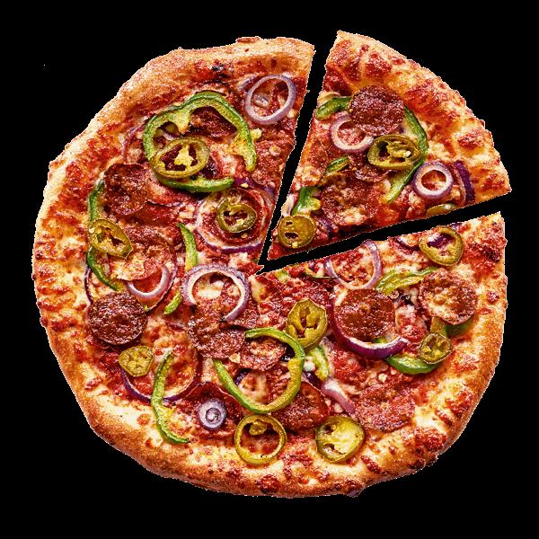 Mexican Hot & Spicy-pizza: een lekkere, pittige pizza