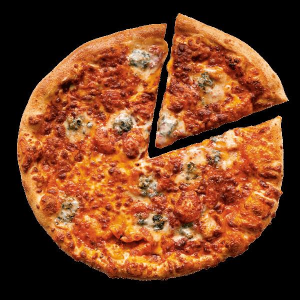 4 Cheese pizza bestellen bij New York Pizza