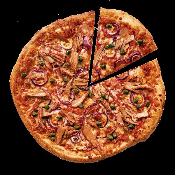Pizza met tonijn bestellen bij New York Pizza