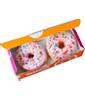 Dunkin' Donuts Strawberry Rainbow