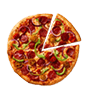 Mexican Hot & Spicy pizza