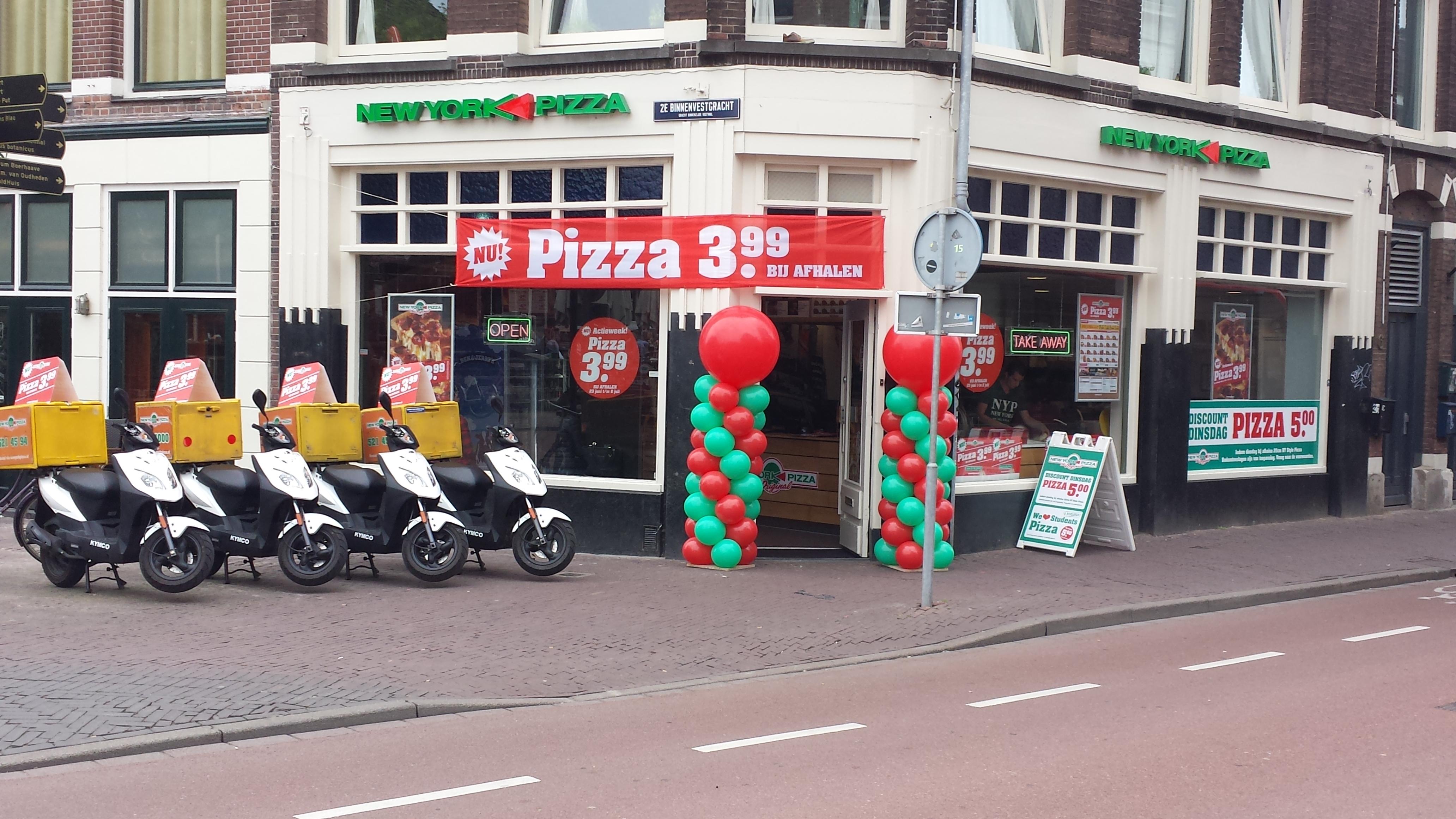 New York Pizza Leiden Steenstraat